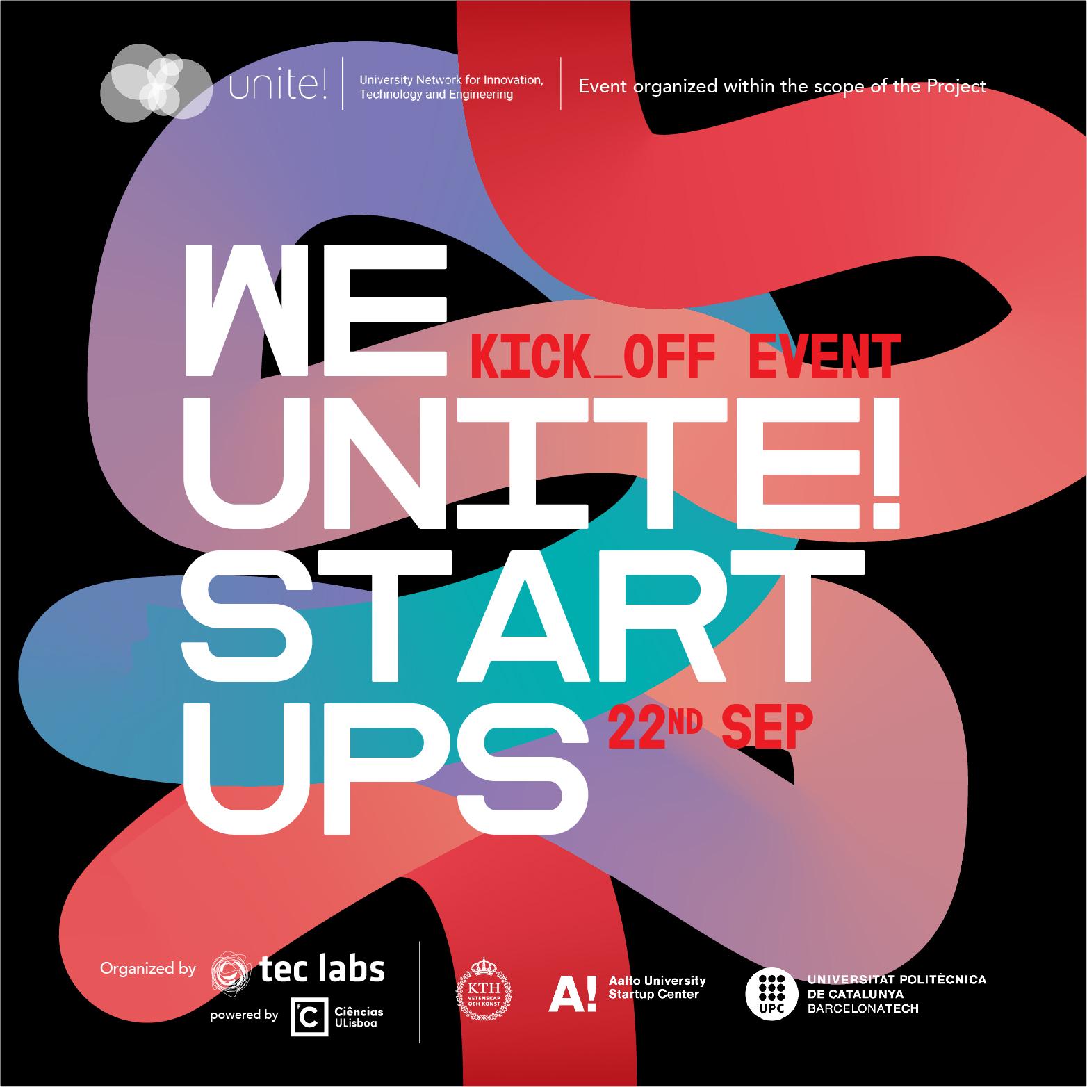 We Unite! Startups Kickoff